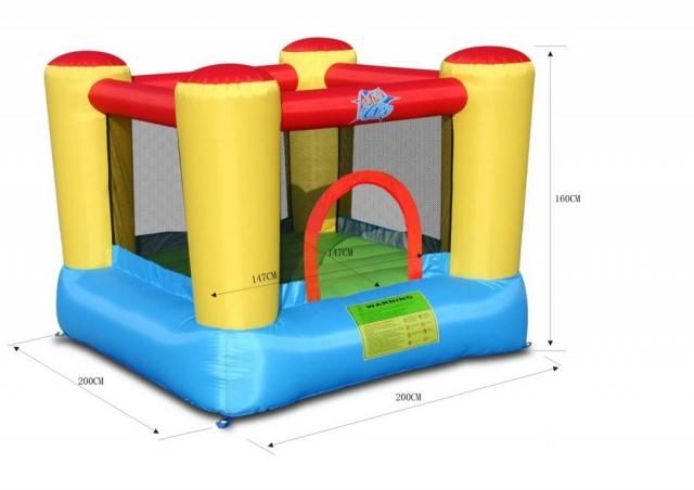 lego igra a napihljivo igralo action air trampolin. Black Bedroom Furniture Sets. Home Design Ideas